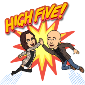 High five - Seeking Saturdays
