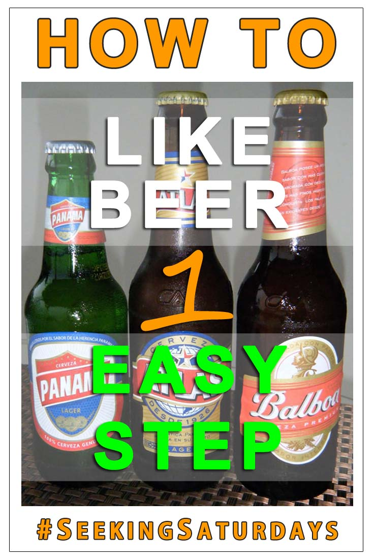 One simple step to start liking beer